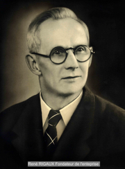 Le fondateur de l'entreprise René RIGAUX