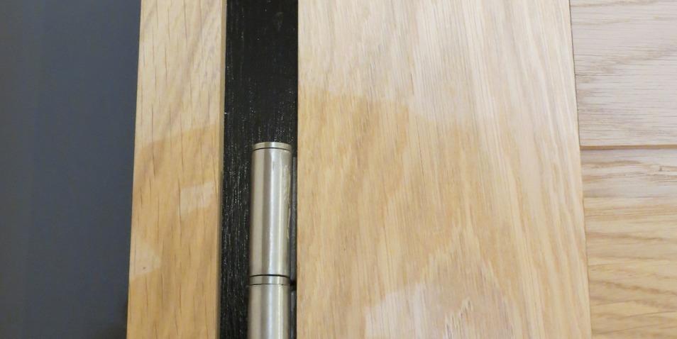 D tail de porte d 39 int rieur loft peinture du contour de - Contour de porte interieur ...