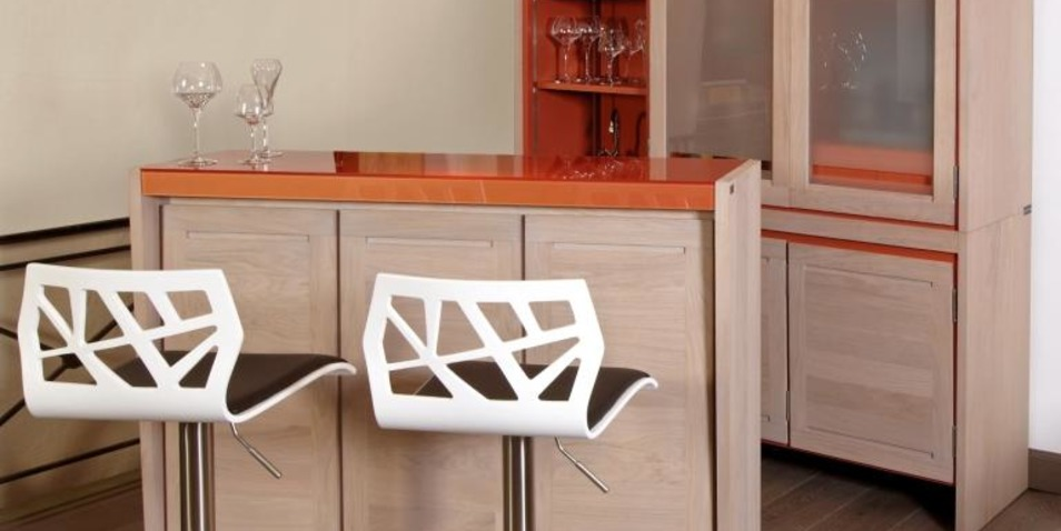 Bar design de la collection Loft Rigaux Contemporain.