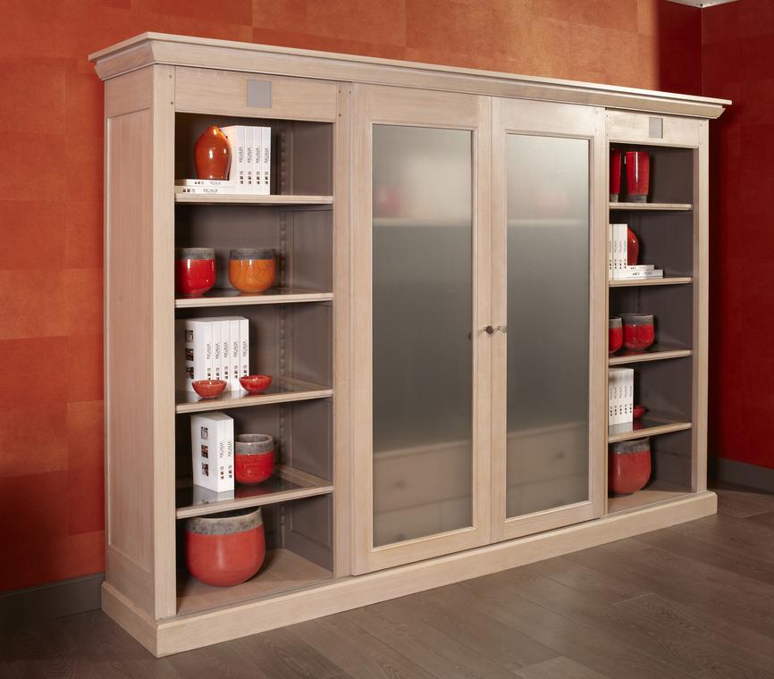 Meuble tv linea avec portes coulissantes nombreux rangements disponibles les portes - Meuble tv vitre ...
